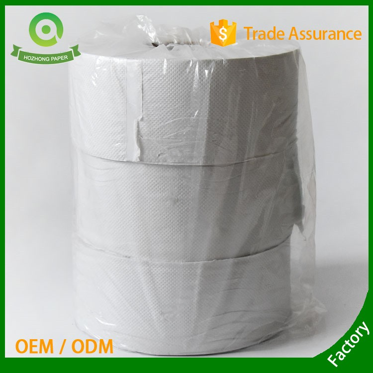Recycled 800g Jumbo Roll Toilet Tissue Paper for Hotel