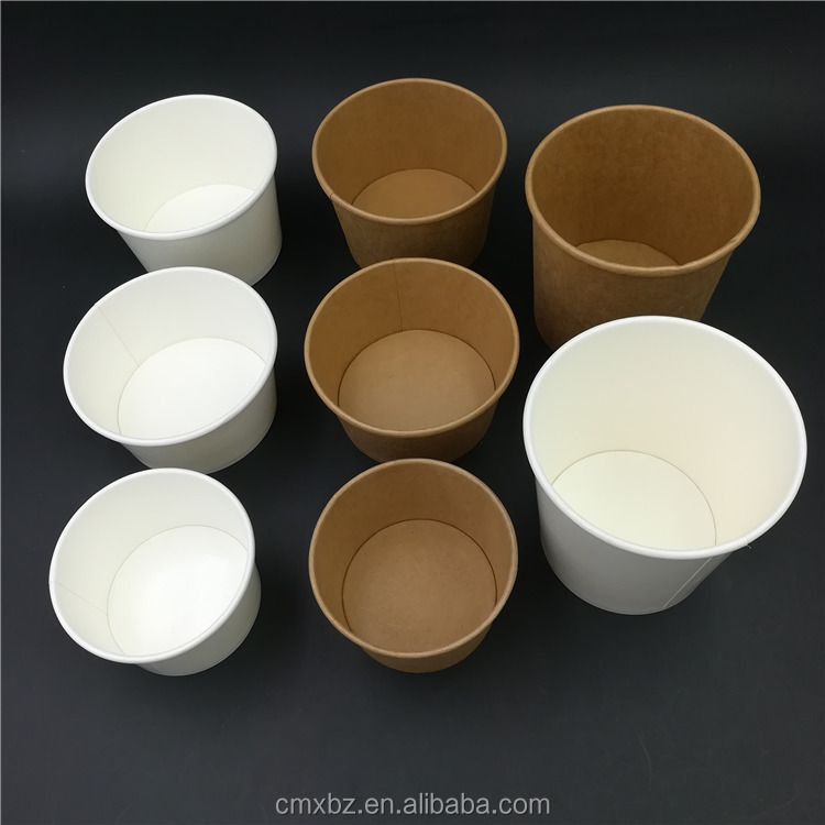 Quality new 300ml kraft import soup paper cups from china