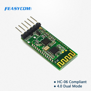 6 pin serial port bluetooth module slave master HC-06 wireless module for Arduinos