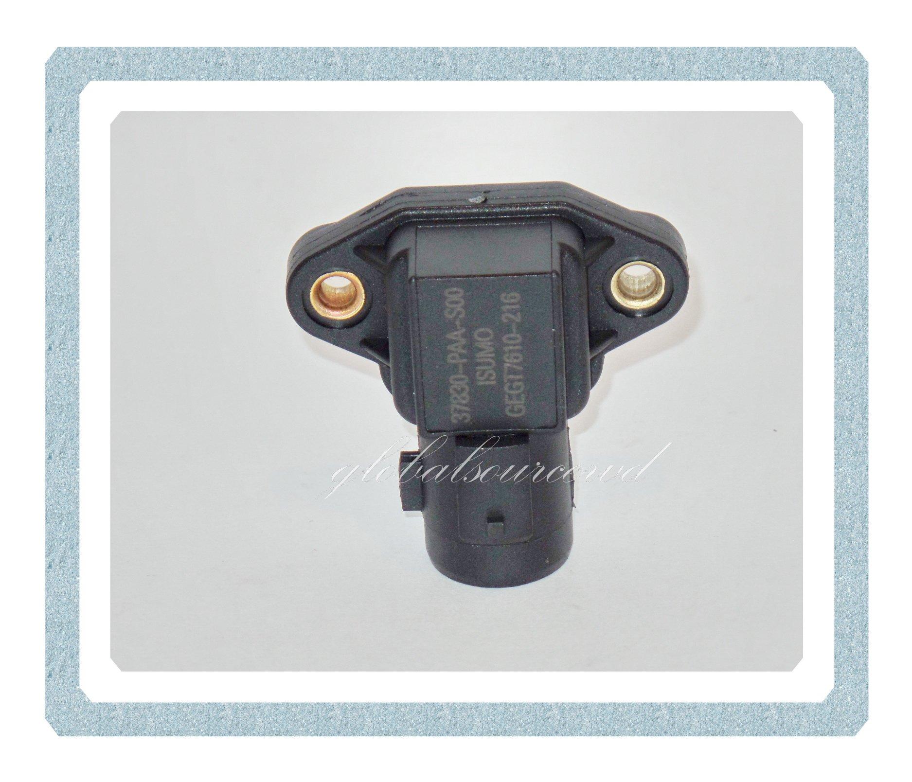 37830-PAA-S00 MAP Sensor Fits: Acura Cl 97-99, Integra 94-01,TL 99, Honda Acoord 94-02,Civic Del Sol 93-97,CR-V 97-01,Odyssey 95-97,Prelude 9601 S2000 00-05,Isuzu Oasis96-99