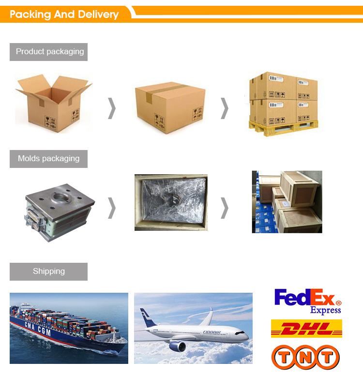 ABS spuitgegoten kunststof onderdelen en spuitgieten voor elektrische doos en Video Matrix Switch