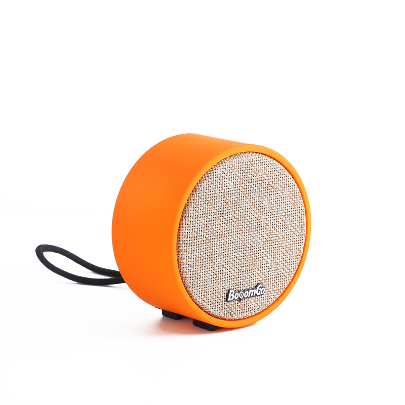 Good Quality Fashion Black Red Orange Grey Bluetooth Speaker with Audio Jack