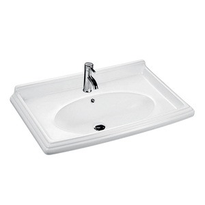 Bathroom ceramic cabinet wash basin specification