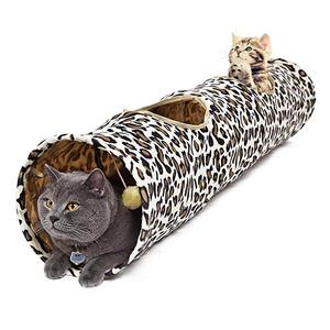 Amazon Hot Sale Toys Collapsible cat Tunnel Tube for Fat Cat,Rabbits,Dogs