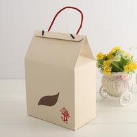 Recycling custom printed packaging box