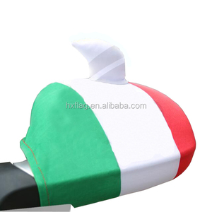 Custom Car Rear View Mirror Flag Country Flag Car Mirror Flag With Horn
