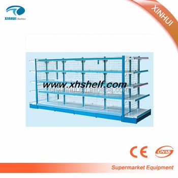 2016 Cheap Priced Grocery Store Wire Metal Supermarket Storage ...