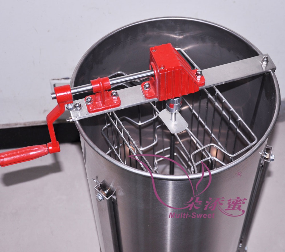 Factory price 2 frames manual motor used honey extractor