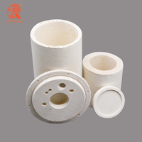 Refractory vacuum formed ceramic fiber special shaped tube cutting blocks