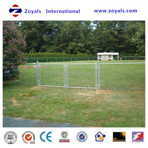 hot sale galvanized chain link fence/manufacturer (ISO Factory & Exporter)