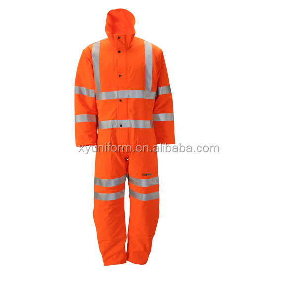 Colored Womens Work Orange Work Coveralls