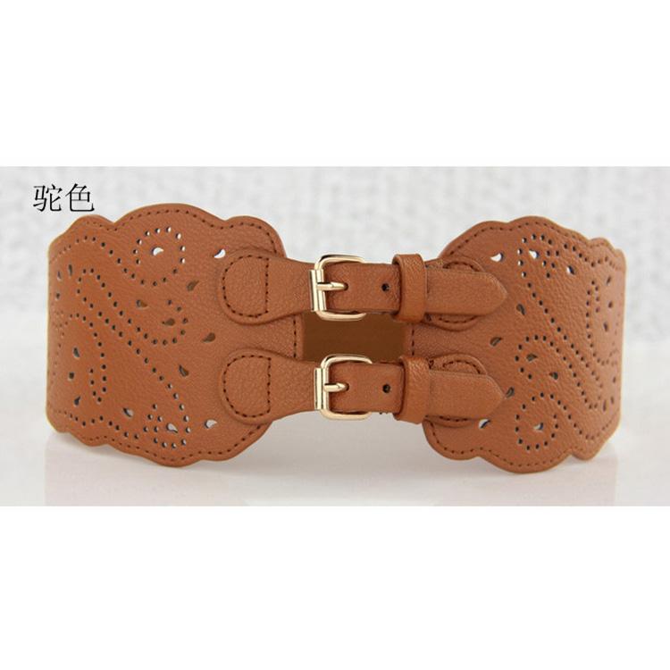 New trendy popular hollow out corset belt vintage corset belt in various colors