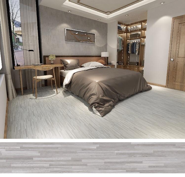 Lvt luxury vinyl plank plastic pvc flooring piso de vinilico dusk color
