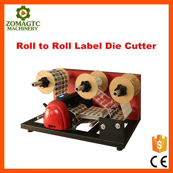 Roll To Roll Label Die Cutter /Label Die Cutting Machine