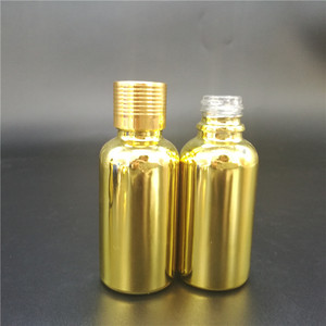 1 oz 30 ml amber e liquid glass dropper bottle with childproof cap