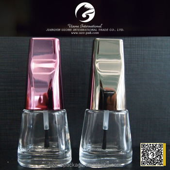 Empty Nail Polish Bottle Manufacturer With Brush Nail With Plastic ...