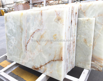 Competitive Cheap China White Onyx Natural Translucent Stone Price
