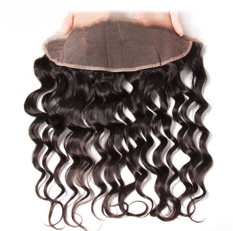 Pure Black Wave Type Of Various Sizes Brazilian Real Human Hair