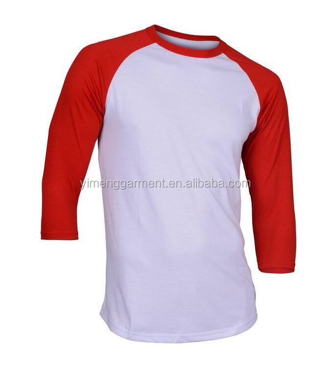Men 39 S Causal Baseball T Shirt 3 4 Sleeve Fitted Raglan