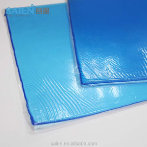 Factory price blue sticky semi-finished gel pad motorcycle seat