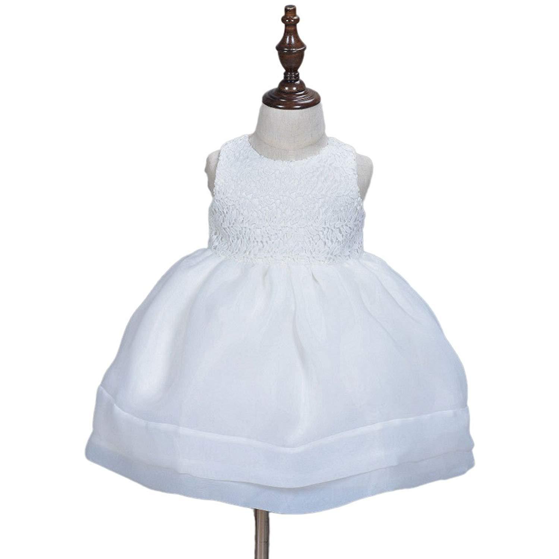 b61ab7b8e8fe3 Get Quotations · gelvs Princess Baby Girl Christening Dress Newborn Toddler  Baptism Organza Lace Dress for Birthday Wedding