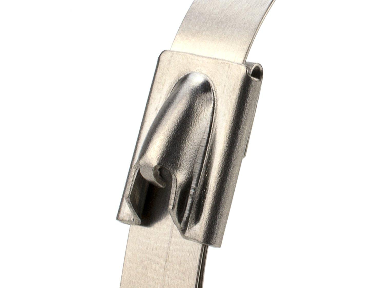 4,6*300 нержавеющая сталь самоблокирующаяся застежка-молния