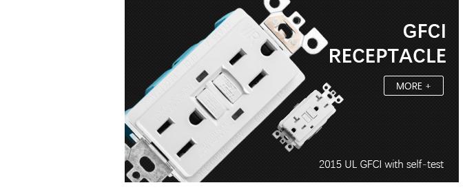 10 GFCI GFI UL 2008 15 A /& 20 A Prise de courant