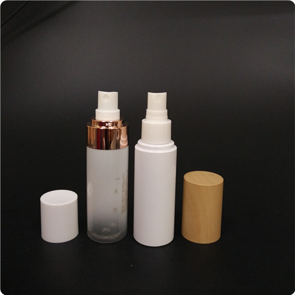 High Quality Gradient White Spray on PET Bottle, Facial Spray Bottle