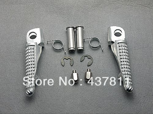 Подставка для ног подножки фронт Kawasaki ZX-6R ZX-10R ZX-9R Z1000 Z750 Z750S ER6N