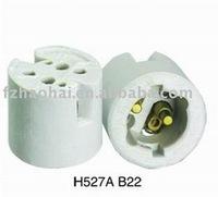 B22 fluorescent bulb lamp holder