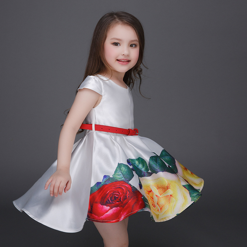 Online China Children Princess Flower Dresses For Kids S Whole