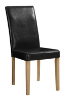 top selling in products in alibaba made in china cheap comfortable /wood industrial leather chair/ room chairs dining/chair