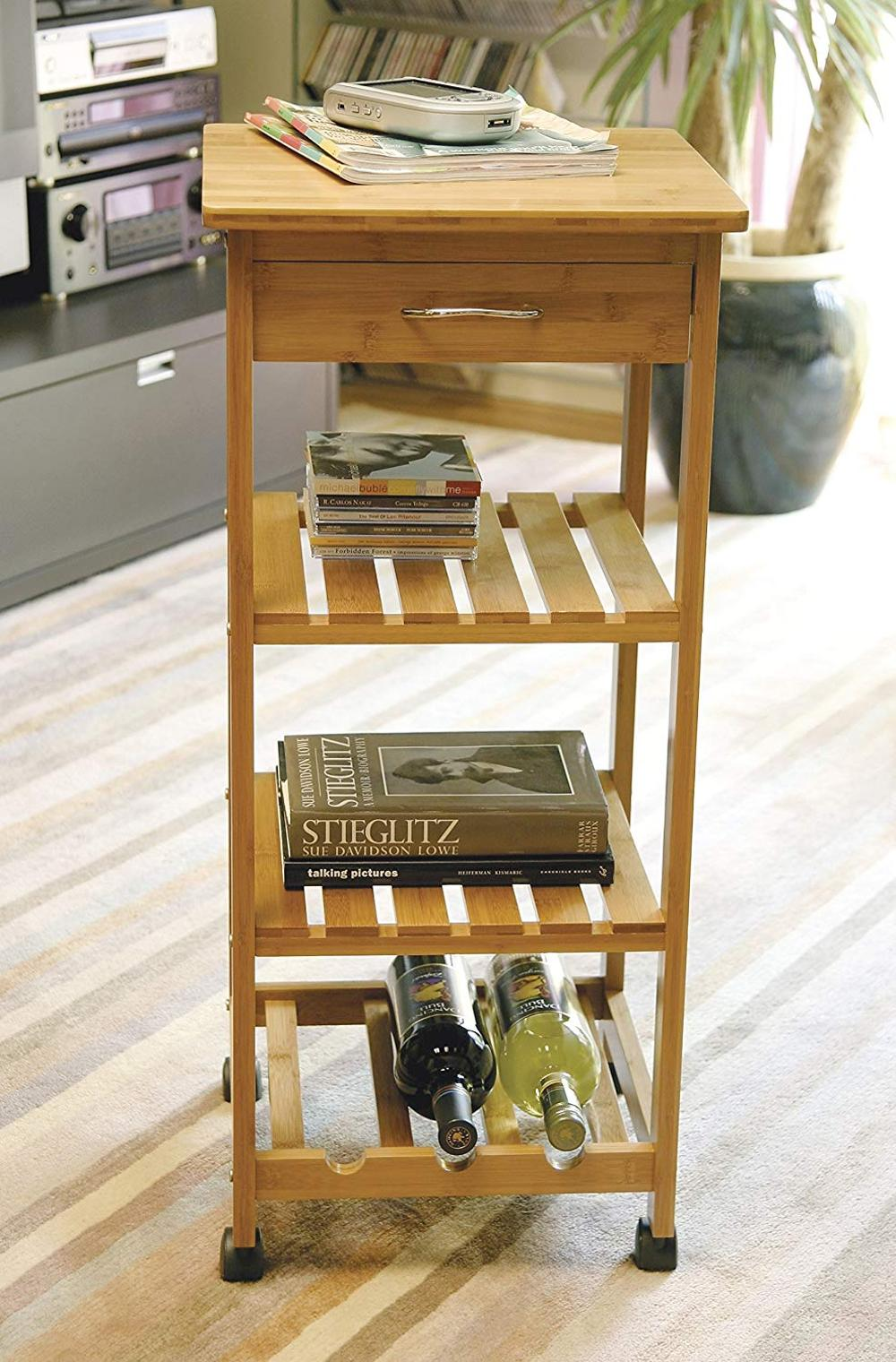 Bamboo-Wood-Kitchen-Trolley-Cart-Space-Saving