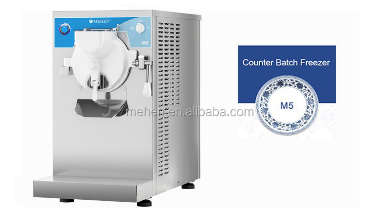 Hot selling easy operating small commercial counter top ice cream machine