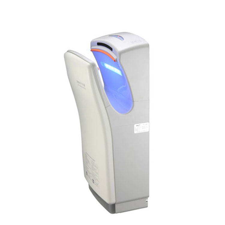 1400W Fast 110m/s Winds Speed Dual Jet-hand dryer 220 Volt Automatic Hand Dryer US Standard Plug- for School, Gymnasium