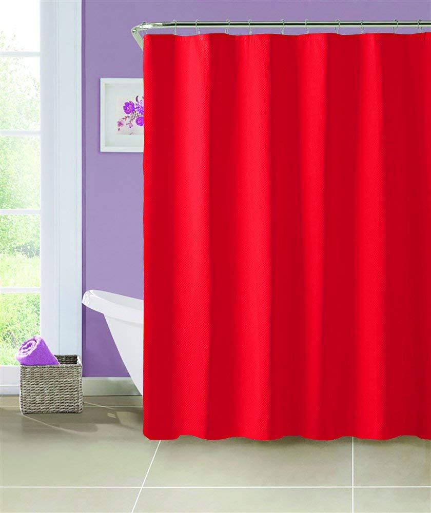 Red Vinyl Shower Curtain Find