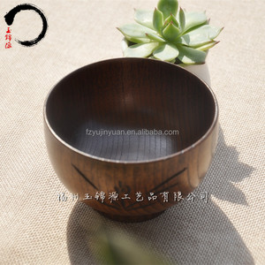cheap antique wholesale rustic wooden soup shaving salad rice bowl carve craft style wood bowl blank jujube woods