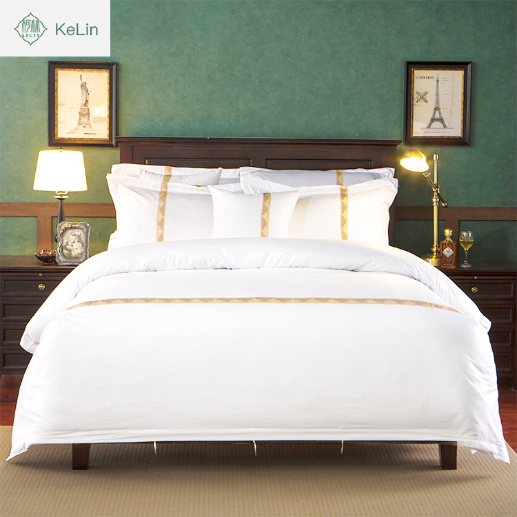 Cheap Price Apartment Use 5 Star Hotel Supply Egyptian Cotton Bed Sheets  Wholesale Hotel Linen ...