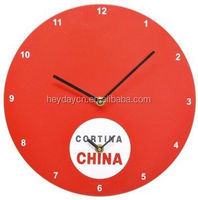 2 time zones MDF wall clock
