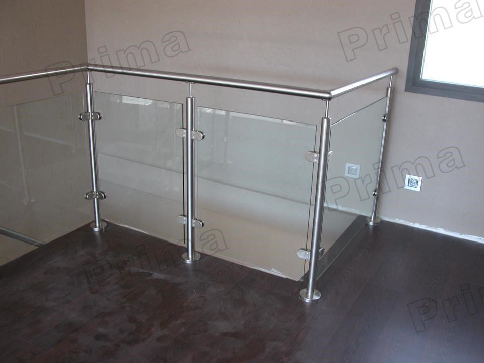 Bonitas barandillas de vidrio sin marco con dise o de for Barandillas de cristal para terrazas