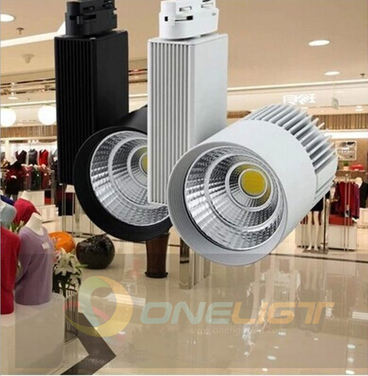Lighting Retail Stores: 2015 Wholesale Retail 30W COB LED Track Light As Shopping
