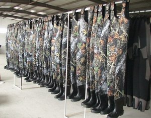 plus size neoprene fishing chest waders wholesale