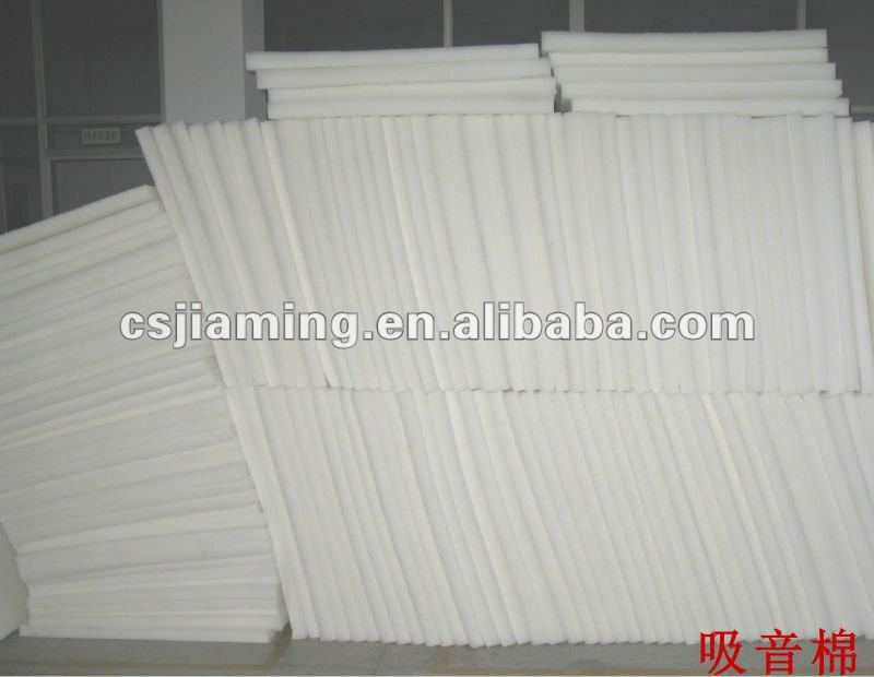 sound absorbing cotton/sound insulation nonwoven fabric