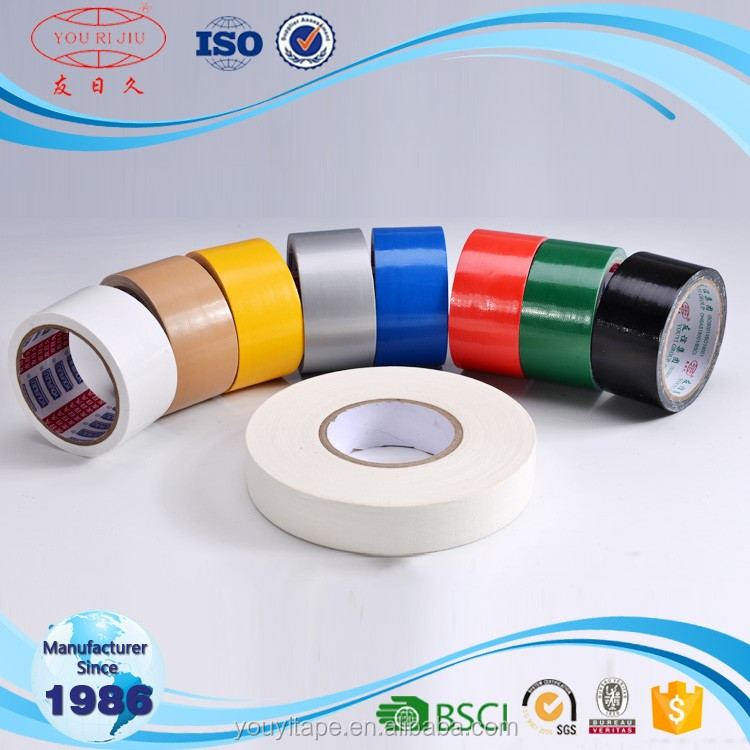 Wholesale custom printed colored free sample custom logo duct cloth tape