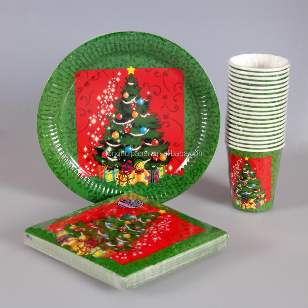 Disposable Christmas Paper Plates Disposable Christmas Paper Plates Suppliers and Manufacturers at Alibaba.com & Disposable Christmas Paper Plates Disposable Christmas Paper Plates ...