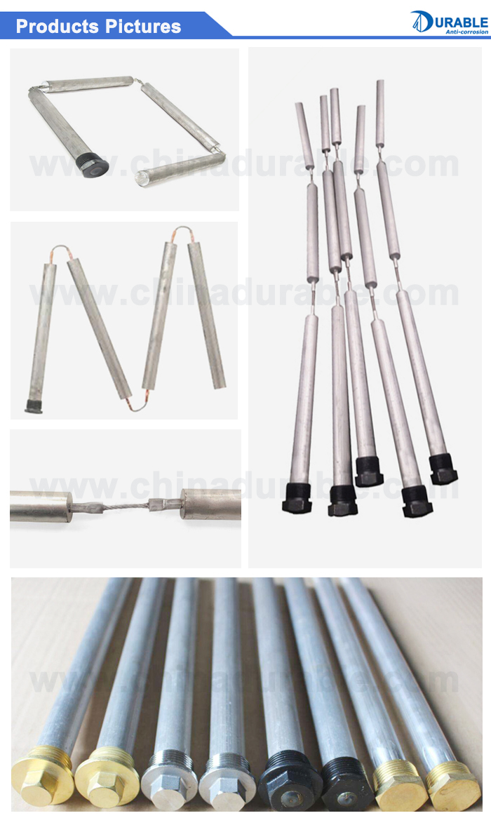 Flexible Magnesium Anode Rod Aluminum Anode Rod For