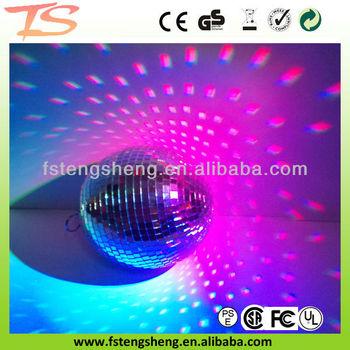 Foshan Tengsheng Mirror Ball Gifts Diameter 6 Inch 15cm For Disco Christmas Lights