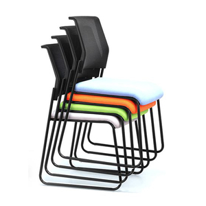 JOHOO Cheap student studying folding school desk chair with writing pad