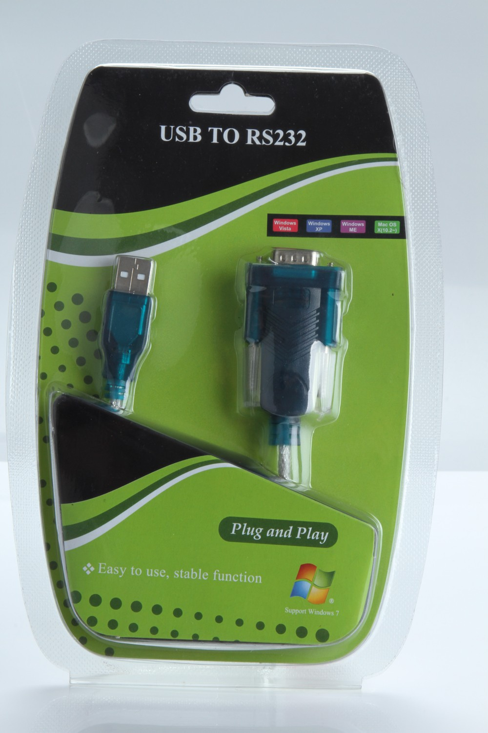 RS232 cable usb to RS232 serial adapter with pl2303 chip