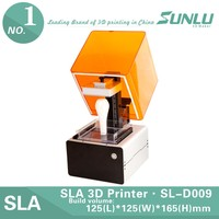 3D resin consumable Jewelry Printers SLA 3D small printing machine